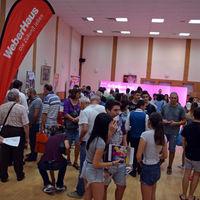 Großer Andrang herrschte gleich zur Eröffnung der Jobmesse.